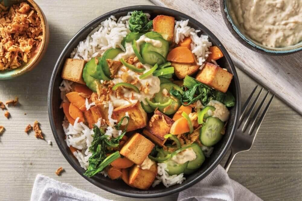 veggie bowl poke