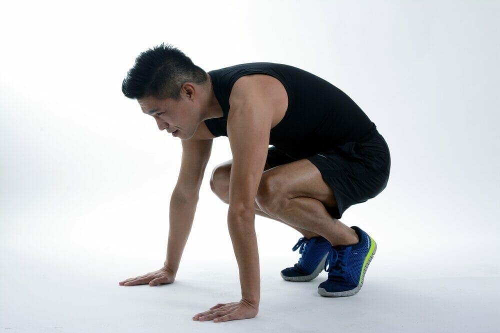 Burpees para entrenar piernas
