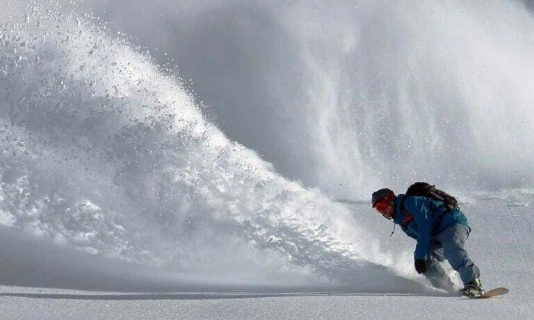 Actividades de invierno: Snowboard