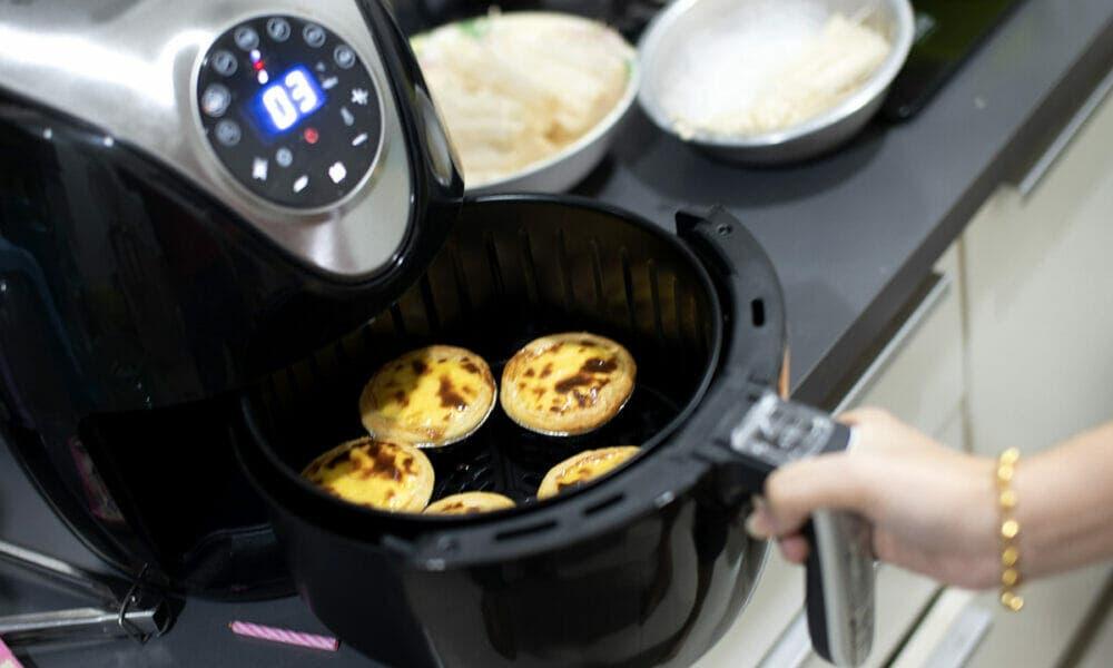 Características de los mejores platos más saludables con una freidora de aire caliente
