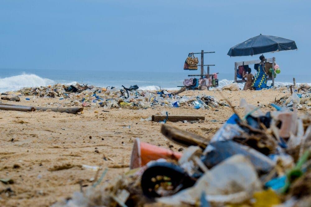 Contaminación en la naturaleza