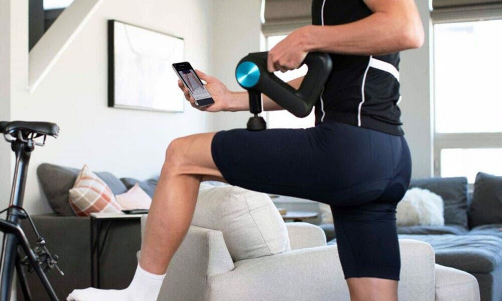 Uso correcto de la pistola de masaje muscular