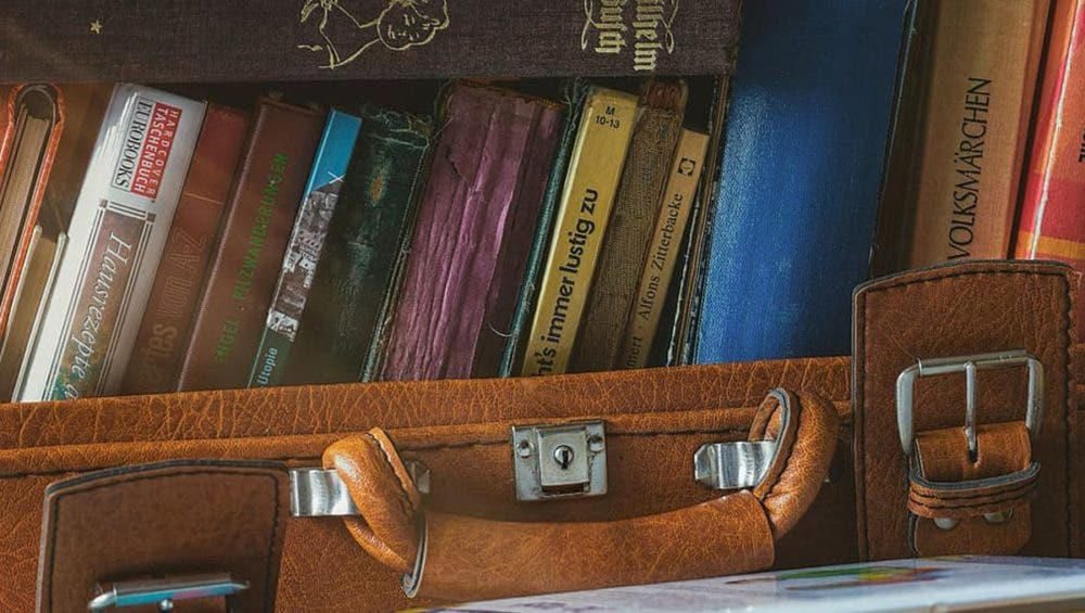 Mancuernas caseras con maleta