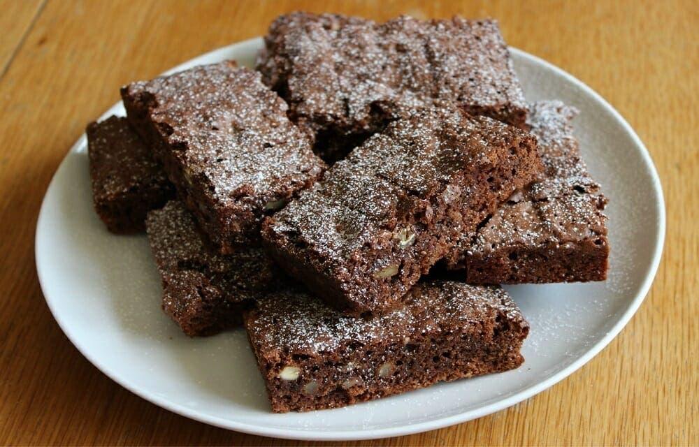 brownies de avena recetas saludables para bajar de peso