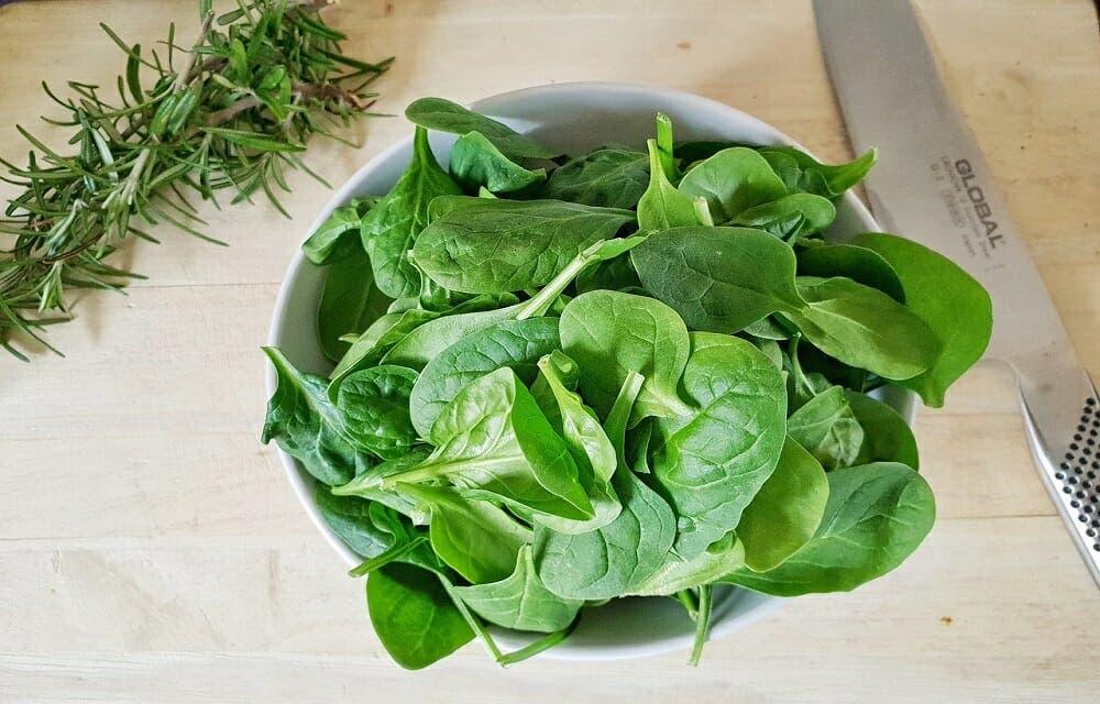 espinacas recetas saludables para bajar de peso