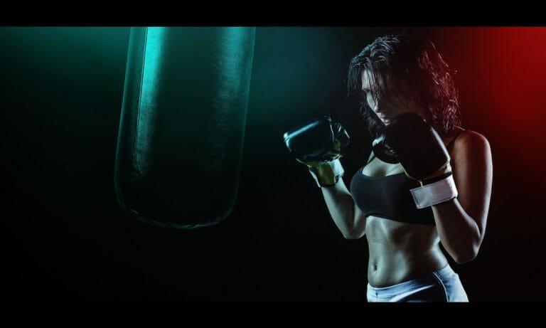 Artículos para practicar boxeo