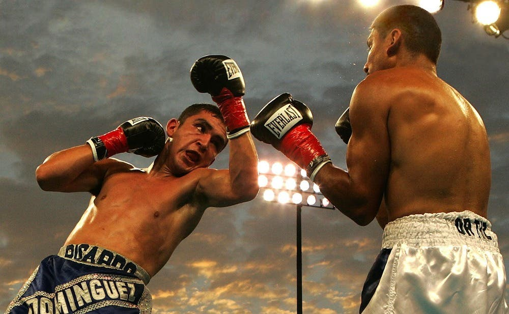 practicar boxeo