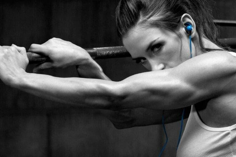 ejercicios para tríceps mujeres gym